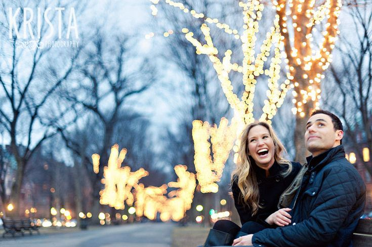 laughing out-Winter Boston Engagement Session                                                                                                                                                                                 More