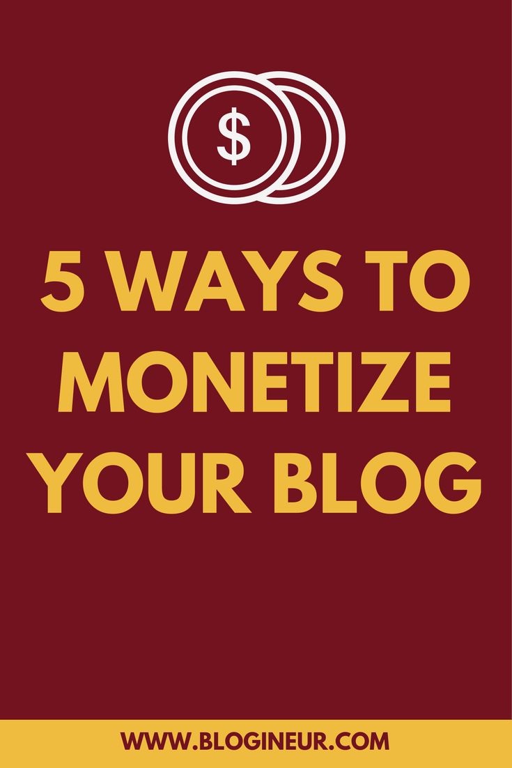 What methods can you use to monetize your blog? Learn what methods of monetization you can use to monetize your blog. #monetize #monetization #blog #blogging