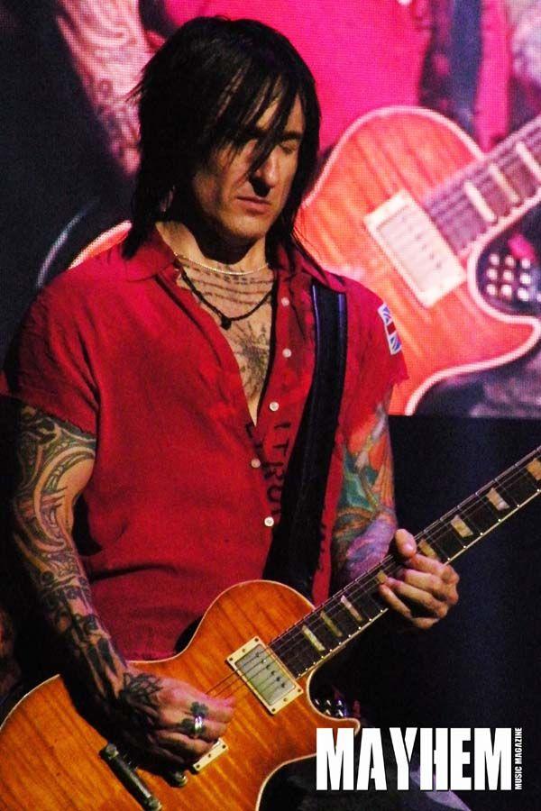 Richard Fortus of Guns n Roses - photo by Dwayne Cavanas for Mayhem Music Magazine