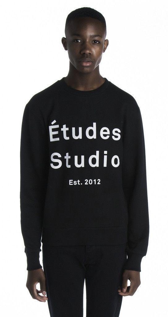 STUDIO Cotton Shirt with Printed Logo Fall/winter Études Studio Jzz5YxixO