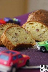 La recette des enfants du Cake aux Lardons