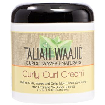 Taliah Waajid Curly Curl Cream This stuff  is awesome.
