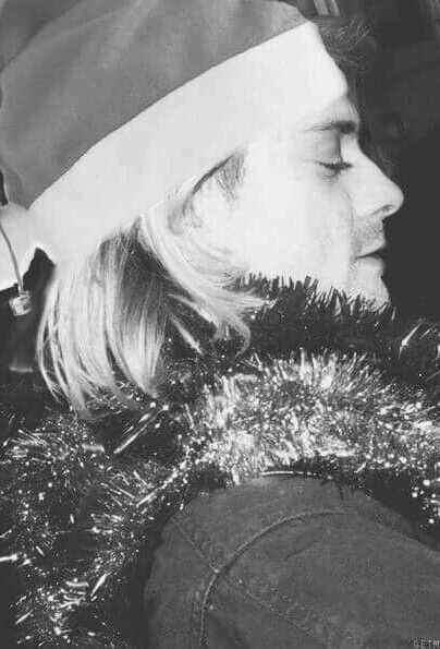 Kurt Cobain backstage at Live and Loud, Seattle, December 13, 1993.