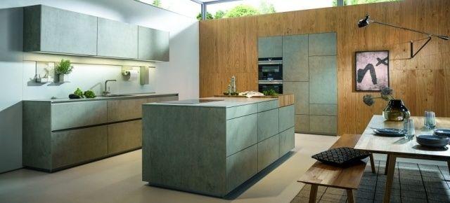 Ceramiczne fronty– innowacyjna oferta dla wymagających. Fot. NX 950 z ceramiki imitującej szary beton (C2075), next125