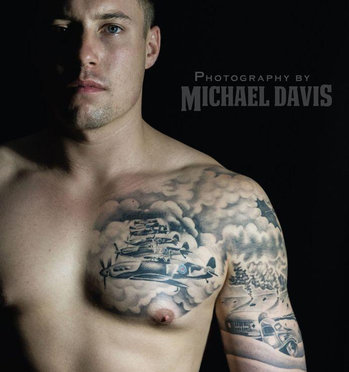 World War 2 Tattoo Design - Including After Ink Photos! - Dark Design Graphics   Graphic Design Newcastle