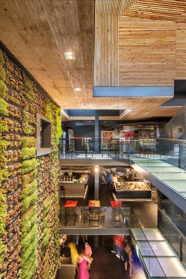 158 best images about mall entrance interior retail on pinterest more behance shopping - Estudio arquitectura toledo ...