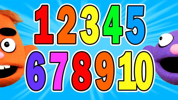 COUNT TO 10 SONG - Numbers for Kids ♫ - Pancake Manor