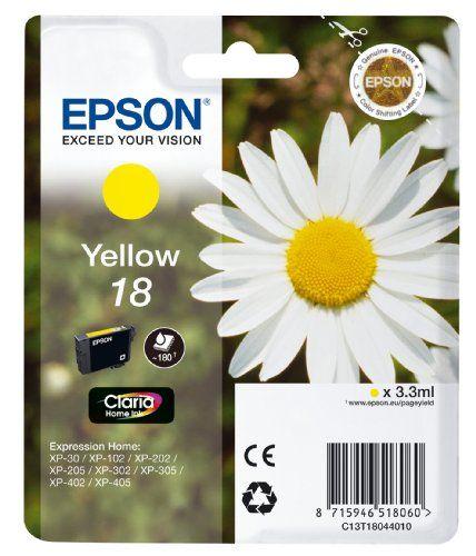 From 1.10:Epson Xp30/ 102/ 202/ 302/ 405 Ink Cartridge - Standard Yellow | Shopods.com