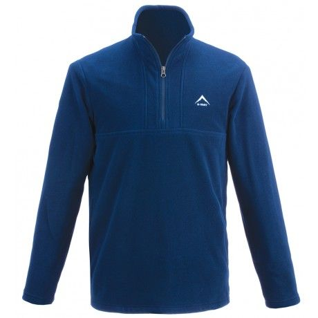Comfortable and durable, the K-Way Urbane is made from polyester and features a two-sided brushed, anti-pill fleece finish. The fabric offers excellent stretch and recovery and an extended 1/4 zip ensures easy access. Tricot mesh pocket bags provide added breathability, giving you all-round garment that is great for hiking and camping.