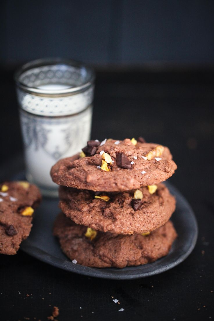 Zuckerzimtundliebe Backrezept Cookierezept Cookies Schokoladencookies Keksrezept Apfelkeks Kakaocookies Walnüsse chocolate apple cookies recipe