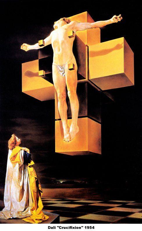 Salvador Dali - Crucifixion