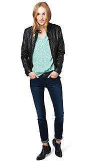 Jacke mit Stepp-Details - Feminine puffer jacket von TOM TAILOR