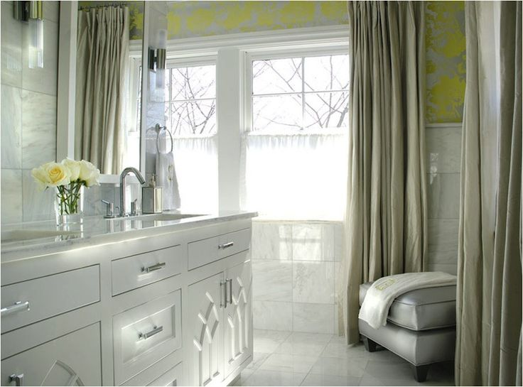 78 best Yellow Gray images on Pinterest Bathroom ideas Home