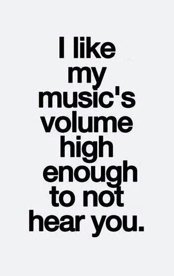 Which is why I seem to ignore people if they shout me in the street I don't ignore them if I see them tho
