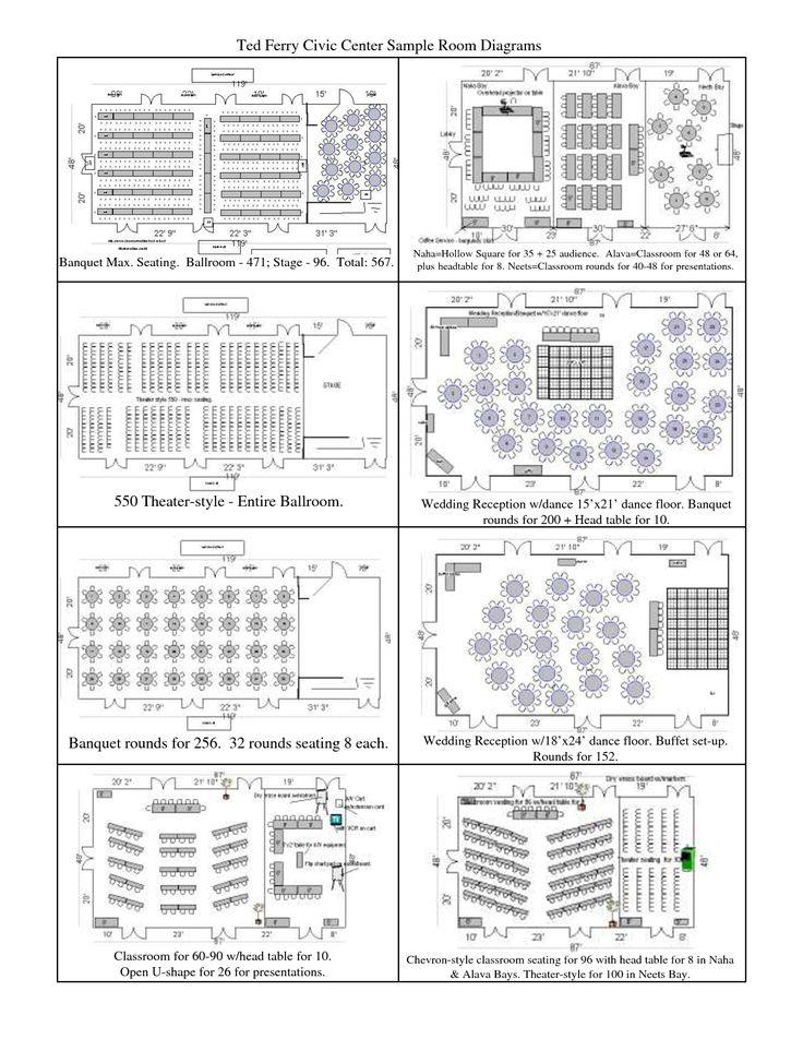table setup diagrams table layout diagrams