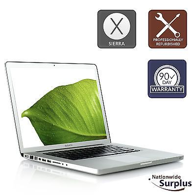 "Apple MacBook Pro 15"" Late 2011 Core i7 2.4GHz 8GB 256GB SSD Sierra MD322LL/A"