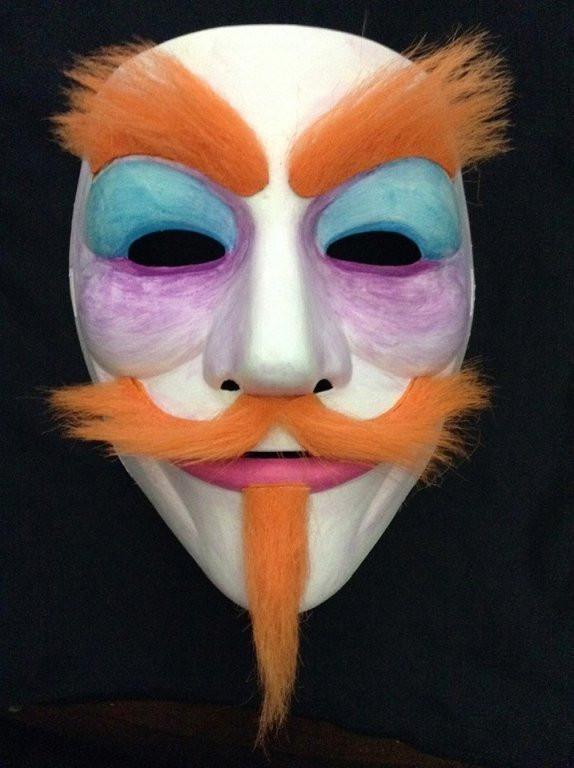 Custom Guy Fawkes Mask Masks My Anon Store