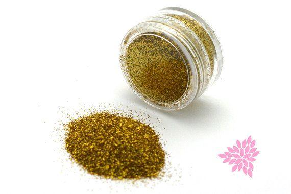 Cake Glitter, Royal Gold - Cake & Cookie Glitter, Sparkle, Cupcake Dust, Gumpaste Dusting Powder, Fondant Glitter, 5 grams/25 grams (E023)