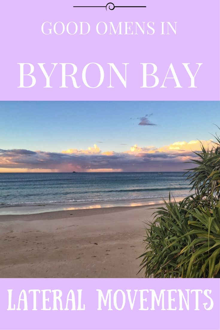 Let's call it good karma. #ByronBay #Luck