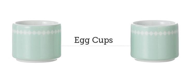 Soporte para guardar huevos o especies Egg Cups de ferm LIVING. Se incluyen dos unidades. #fermLIVING, #cuenco, #recipiente, #eggcups, #cups, #huevos, #eggs, #bol, #cocina, #cuina, #kitchen, #design, #porcelana, #porcelain, #diseno, #home, #casa, #interiorismo, #interiorism, #decoration, #deco, #decoracion, #cuisine, #kuche.