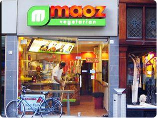 Saladbar of Maoz - Leidsestraat 85, Amsterdam