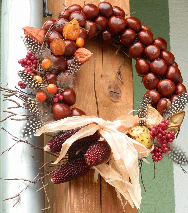 Kaštanový podzimní