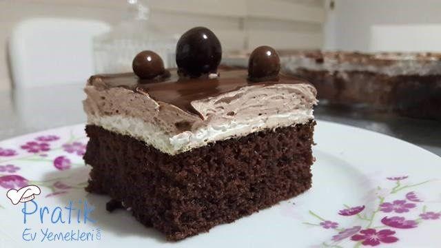 Çikolatalı Ganajlı Kek