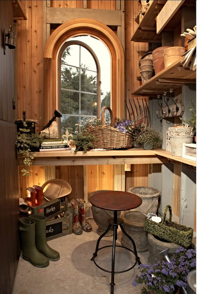 Garden Room. Garden Room Ideas. VanBrouck & Associates, Inc.