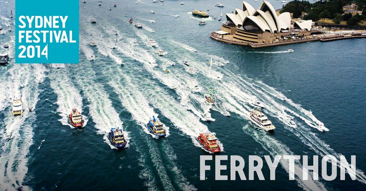 The Ferrython is the annual ferry race that takes place on Sydney Harbour on Australia Day. Information from the Sydney Festival website: http://www.sydneyfestival.org.au/2014/Family/Ferrython/