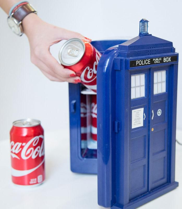 TARDIS Mini Fridge - NEED THIS