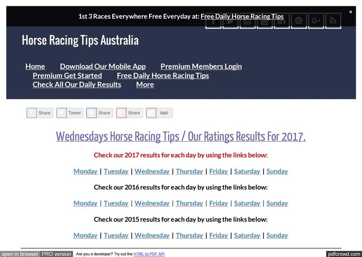 Wednesdays June 28th Horse Racing Tips Today's Results