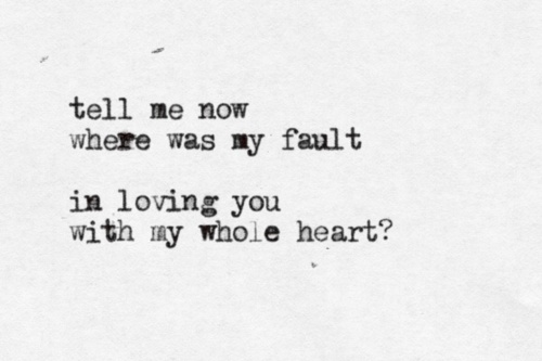 I Gave You All, Mumford & Sons (because they really did love each other, more than brothers, deeper than friends, and there was nothing romantic about it. they were brothers and best friends and enemies and I hate them so much)