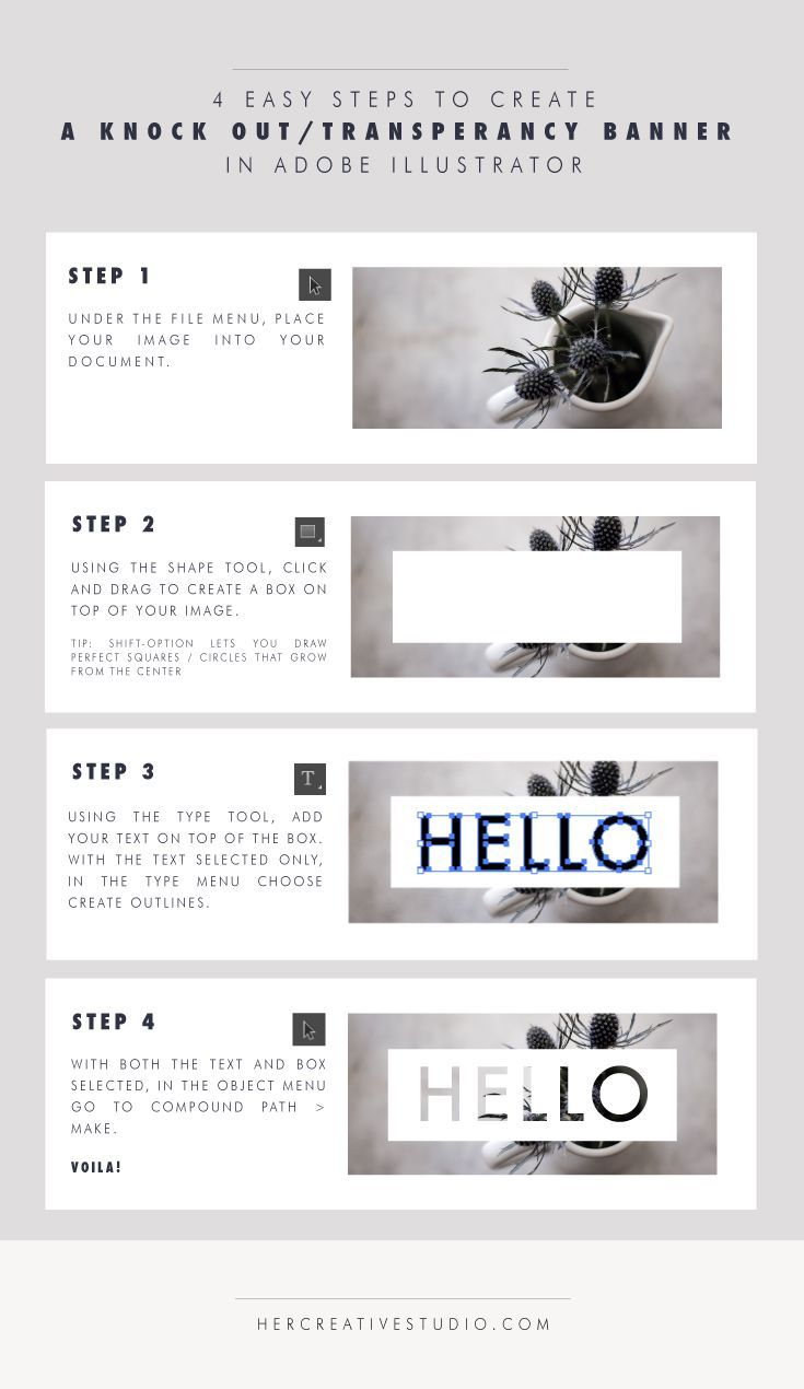 Designing Basics Knock Out Banner In Ai In 2020 Graphic Design Tips Design Basics Graphic Design Tutorials