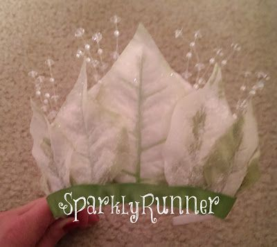 How to make a Tiana-inspired leaf crown from Princess and the Frog. Become your favorite Disney Princess for less than $15!
