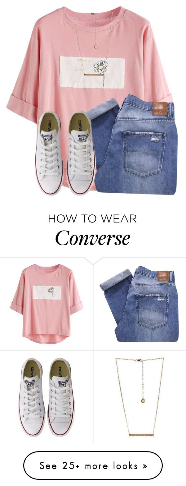 """""""This set is really bad but Idc✌"""" by awillis296 on Polyvore featuring Nobody Denim, BCBGeneration and Converse"""