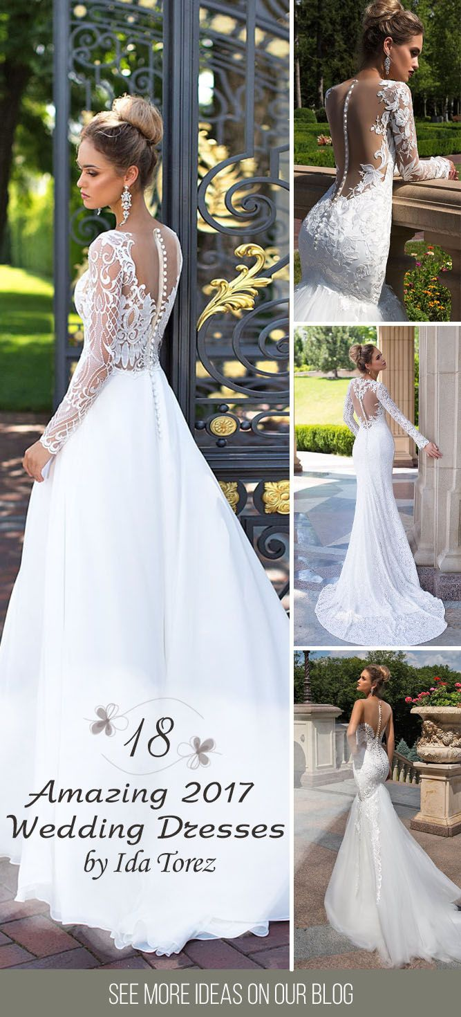"""Ida Torez bridal collection 2017 ❤ To feel like a Queen and catch a million admiring glances – that's what awaits you when you wear a new collection """"Ida Torez 2017"""". These wedding dresses designed and created with the latest trends in the world. See more: http://www.weddingforward.com/ida-torez-bridal-collection/ #wedding #dresses #2017"""