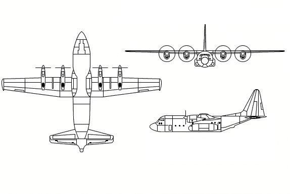 C-130 Hercules - Military Aircraft