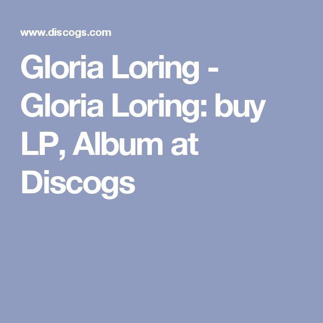 Gloria Loring - Gloria Loring: buy LP, Album at Discogs