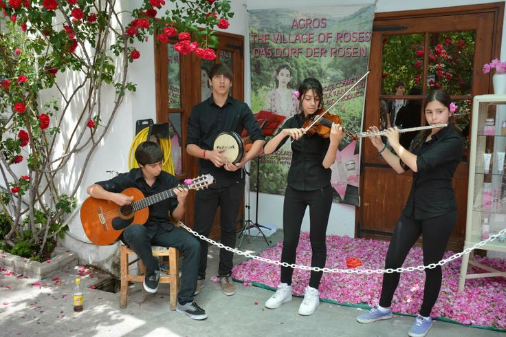 "SecretCyprusTravel: A visit at the ""Rose Festival"", Agros village, Pitsilia area, Limassol"