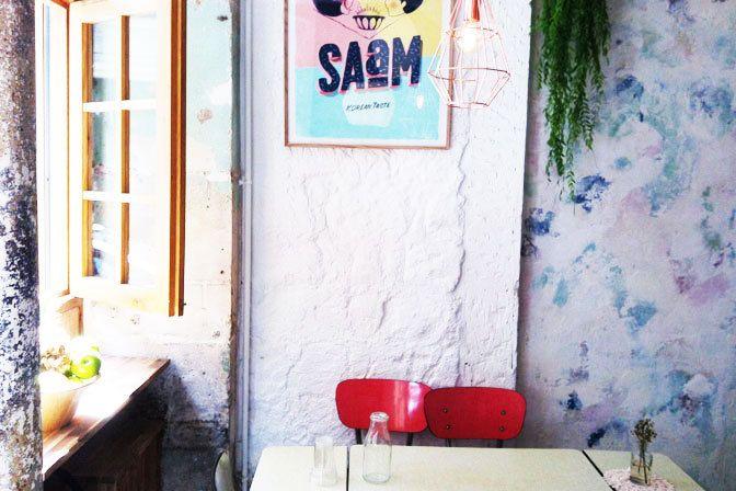 Restaurant SAaM, 59 bis, rue de Lancry Paris 75010. Envie : Coréen, Tapas et pinchos, Nourritures mondaines, Lèche-doigts. Les plus : Take-away, An...