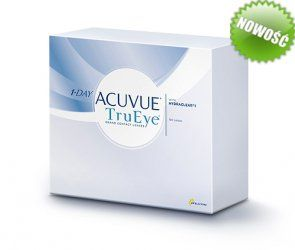 Soczewki kontaktowe TruEye 180 szt. - soczewki jednodniowe, sferyczne