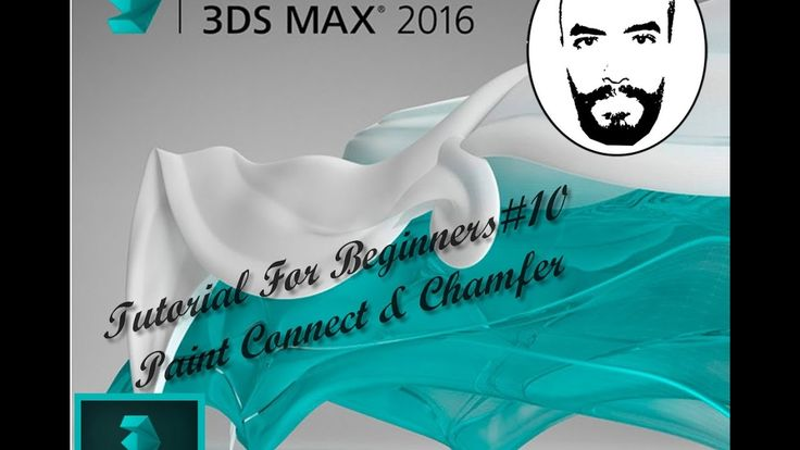 3ds Max Tutorials For Beginners #10  Paint Connect & Chamfer
