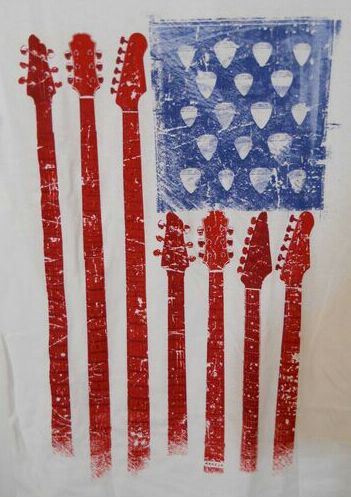 4th of july guitar images