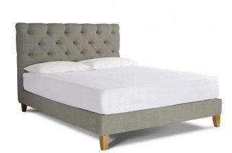 Foxtail Super King Size Upholstered Bed Frame
