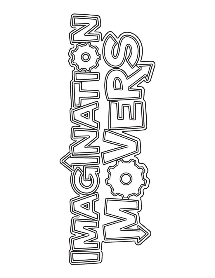 Imagination Movers Coloring Pages Party Ideas Pinterest Imagination Movers Coloring Pages