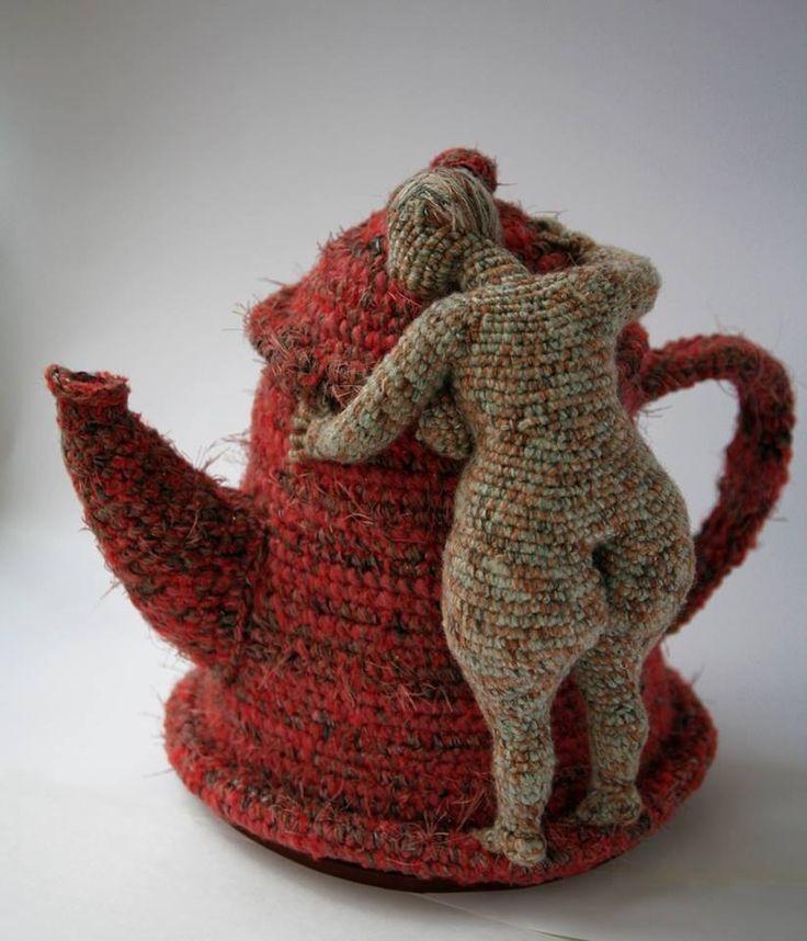 69 Best Yarn Sculpture Images On Pinterest Fiber Art