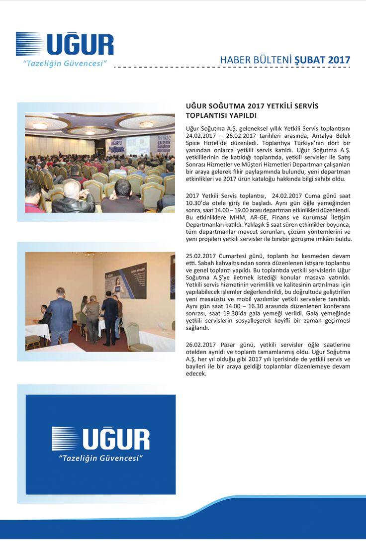 Ugur Soğutma Yetkili Servis Toplantısı #ugurdanhaberler #ugursogutma #yetkiliservis