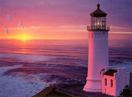 Peace Black Wallpaper Lighthouse Sunset 2000 Piece Jigsaw Puzzle Clementoni