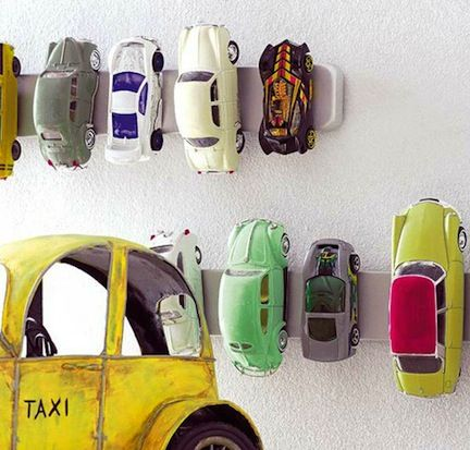 great idea for toy cars: Cars Storage, Knifes Holders, Toys Cars, Boys Rooms, Magnets Knifes, Matchbox Cars, Kids Rooms, Toys Storage, Hot Wheels