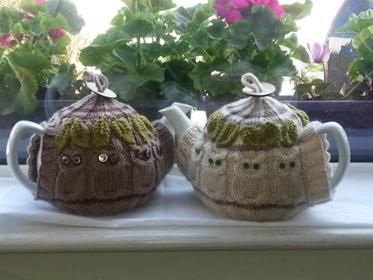 Your Owl Man Tea Cosy Pattern